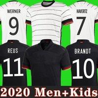 ألمانيا 2020 كرة القدم جيرسي الرئيسية كيت هامليلز كروس دروس دروس ريوس مولر غوتز كأس أوروبا لكرة القدم قمصان زي الرجال + أطفال كيت