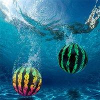 Надувная арбуз шар под водой воздушный шар ПВХ подростковые взрослые пляжные игрушки игры игра бассейн поплавок играть в воде веселье для праздник вечеринка садовая игрушка 9inch