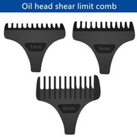 Hair Brushes 1 3 6mm Universal Clipper Limit Combs Guide Guard Attachment Size Barber Replacement For Electric Clippers Shaver