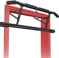 Keine Installation erforderlich Protable Fitness-Pull-A-Bar für den Türen mit abgewinkeltem Griff-Türrahmen Kinn Home Gym Übung horizontale Bars