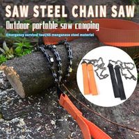 Hand Tools Pocket Chain Saw Survival Gear Manual Steel Rope Practical Portable Emergency Wire Wholesale