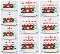 Venta de adornos navideños de bricolaje, resina personalizada DIY DICI, precio de fábrica al por mayor, familia de 1-9