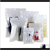 Packing 813Cm Clear White Smell Proof Mylar Plastic Zip Lock Bags Runtz Packaging Opp Bulk Gift Packages Pvc Bag Self Sealing Baggies Xr9Gl
