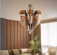 Retro clothing store chandelier Pendant Lamps living room restaurant bar table creative personality led industrial style