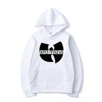 Hip Hop Band Massive Farbe Print Hoodies Wu Tang Clan Männer Frauen Mode Mit Kapuze Sweatshirt Sport Casual Hoodie Pullover Unisex Tops 201020