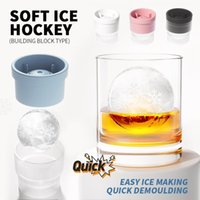 Baking Moulds 1pc Ball Ice Molds DIY Home Bar Party Cocktail Whiskey Use Sphere Round Makers Kitchen Cream Tray Jelly Mould