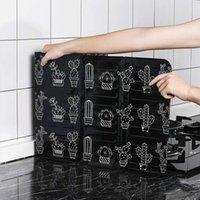 Utensili da cucina creativi con forno a fornello Utensili da cucina Cooking Isolamento termico Splash e deflettore a prova di scossa Elevata temperatura FWD9846