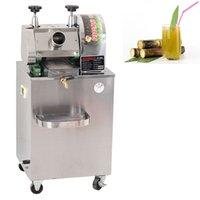 750 Вт коммерческий сахарный тростник сок Автоматический настольный электрический электрический пресс из нержавеющей стали пресс-экстрактор 220 В