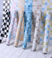 5 mt Badezimmer Fliesen Wasserdichte Wandaufkleber Vinyl PVC Mosaik Selbstklebende Antiöl Aufkleber DIY Wallpapers Wohnkultur