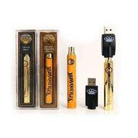 Brass Knuckles Vape Battery 650mAh 900mAh Variable Voltage Preheat E Cigarettes BK 510 Thraed vapes Pen