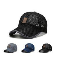Outdoor Hats Summer Sun Quick Dry Women Men Golf Fishing Cap Adjustable Unisex Baseball Caps Hip Hop Hat