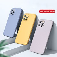 Cell Phone Cases caso líquido para for apple iphone 11 12 13 pro max silicone com completa