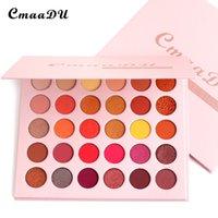 CmaaDU 30 Colors Matte Shimmer Eyeshadow Foundation Makeup Eye Shadow Palette Waterproof Cosmetics Kit