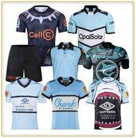 2021 Queensland Maroons Malou Cronulla Jersey Guerreiro Preto Tubarão Tailandês Adulto Rugby Camisa S-5XL 2022 HERO EDIÇÃO CALÇAS CORTAS POLO