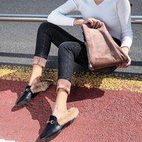 Женские джинсы Wkoud Женщины Fleece 2021 Теплые джинсовые карандашные брюки зимние тощие уличные панчаты мода сгущает брюки плюс размер джинс P3091