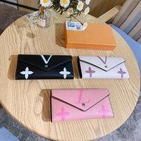 Mujeres Lujos Diseñadores Bolsas Bolsas 2021 Bolso de calidad superior Impresión L Bag Genuine Leather Messenger Ladies Travel 22 * 13 * 7cm