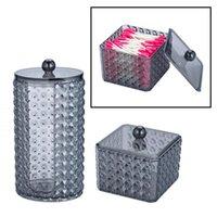 Storage Bottles & Jars Qtip Dispenser Holder Glasses Bathroom, Premium Quality Acrylic Container For