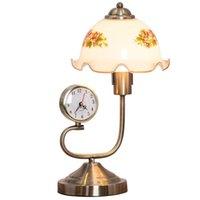 Desk & Table Clocks European Luxury Living Room Lamp American Country Bedroom Bedside Neoclassical Nostalgic Retro Domestic Clock