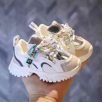 Capsella أطفال حذاء 1-3 سنوات طفل أول مشوا لينة عدم الانزلاق الرضع الرياضة أحذية الطفل تنفس الأحذية فتاة بوي طفل أحذية 210728