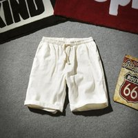 Men's Shorts Punk Mens Hip Hop Cotton Knee Length Joggers England Summer Short Hombre