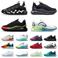 720 818 Mens Womens ISPA Running Shoes Sports Sneakers Tripl...