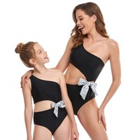 Mother Daughter Bikini Swimwear Beach Bath Swimsuits Family Look Mommy and Me Clothes Mom and Daughter Matching Dresses Outfits