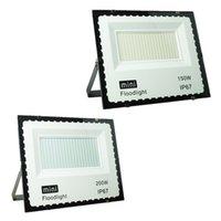 MINI LED Floodlights 10W 20W 30W 50W 100W 150W 200W Ultrathin Outdoor Flood Lights AC 85-265V In Stock