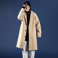Streetwear Mens Coats Harajuku Windbreaker Solid Color Overcoat Man Outwear Kpop Big Size Woman Jackets Fashion Autumn 5XL