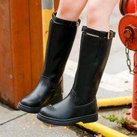 Boots Girls Autumn Winter Children Knee-High Fashion Baby Rubber Soft Platform Snow Shoes For Kids