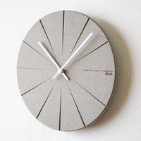 Wall Clocks Nordic Style Clock Creative Living Room Modern Contracted Fashion Quartz Bedroom Mute Digital Watch