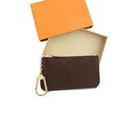 Última cartera de claves para mujeres Hombres diseñador Llavero Titular de la marca Monedero Pochette Bolsa de las señoras