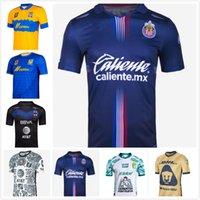 Liga MX 21 22 Club America Soccer Jerseys Leon Dritter 2021 2022 Mexiko Léon Tijuana Tigres Unam Chivas Cruz Azul 3rd Football Hemd Größe S-3XL