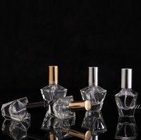 10 ml Boş Parfüm Depolama Şişeleri Cam Kavanoz Sprey Atomizer Doldurulabilir Şişe Koku Kılıf Seyahat AHF6013