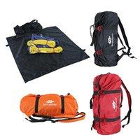 تسلق الحبل حقيبة الطباشير المحمولة السلامة في الهواء الطلق للماء قابل للتعديل للطي الملحقات معدات المعدات، الرافعات وحزامي