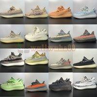 Yeesy Yeyzys Yeezys V2 Erkek Koşu Ayakkabıları Kanye West MX Rock Yulaf Işık Kül İnci Zebra Zyon Static Glow Karanlık Yekeil Bayan Boost Eğitmenler Spor Sneakers 350