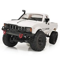 C24-1K 1/16 Kit 4WD 2.4G Camion militare Burgy Crawler Off Road Rc Car 2ch Toy