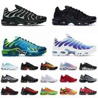 Nike Air Max Plus TN Airmax Vapormax OFF White Scarpe da corsa da donna da uomo di grandi dimensioni US 12 Triple Black Scarpe da ginnastica da uomo sportive da donna EUR 36-46