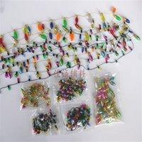Mini Acessórios Mobiliário Acessórios de Boneca Acessórios 0.5m Cadeia de Luzes Falsas 1/12 Escala Dollhouse Miniatura 7styles 1321 Y2