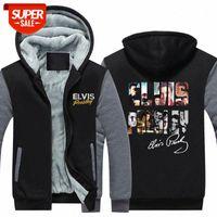 Elvis Presley Sweatshirt Music Trend Sweat à capuche # VN4O