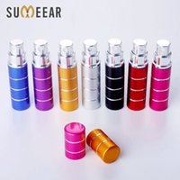 20Pcs lot 5ml Spray Travel Perfume Bottle Mini Portable Refillable Perfume Bottle With Empty perfume bottle Cosmetic Container