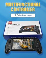 Portable Game Players X21 Retro Handheld Video Console Bulit-in 3000 7.0 Inch HD Screen Music Video Player Children's Gift
