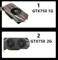 Графика подержанные карты красочные GIGABYTE ASUS GTX1050TI GTX1060 GTX960 1060 950 2G4G6G PUBG Computer GTX750TI