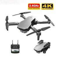 Drone 4K HD ampio fotocamera ampia Professionale 4K WiFi FPV Drone Dual Camera Quadcopter Transmissione in tempo reale Elicottero RC Drontoy
