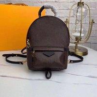 Mini Palmiye Kadın Çanta Sırt Çantaları Avrupa Marka Tasarımcıları Lüks N41612 Damier Cobal Mens Sırt Çantası Yüksek Kalite Yaylar Okul Çanta-e D9VW #