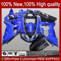 OEM-Bodys für Suzuki SRAD TL1000R TL-1000R TL1000 R 98 99 00 01 02 03 Karosserie 19HC.94 TL 1000R 98-03 TL-1000 TL 1000 R 98-03 TL-1000 TL 1000 R 1998 1999 2000 2001 2002 2003 Verkleidungsset glänzend blau