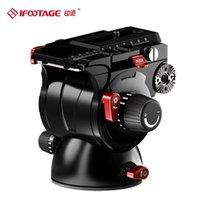 Ifootage K7 بانورامي ترايبود رئيس الهيدروليكية السوائل فيديو ل حامل كاميرا monopod حامل المحمول SLR DSLR حمولة 7kg رؤساء