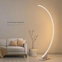 Floor Lamps Brief Standing Lamp Living Room Modern Fishing Design Desk Table Light Stand Bedroom Drop