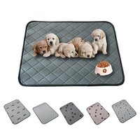 Dog Bed Mat Eco-friendly Cat Urine Fast Absorbing Pet Soft Warm Waterproof Non-slip Reusable Hand Wash Car Seat Cover Kennels & Pens