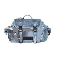 2021 Men Cross Chest Bag Women Large Capacity Grid Cosmetic Beach Bags messenger shoulder bag camouflage small sports mesh waist bag