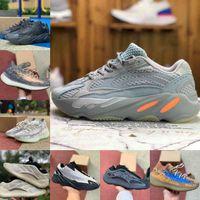 2021 جديد جودة عالية 700 Kanyes الغربية الاحذية الاحذية فانتا 700 v3 الفح azael 3m عاكس 380 ضباب الغريبة الفاخرة رجل مصمم أحذية رياضية G98